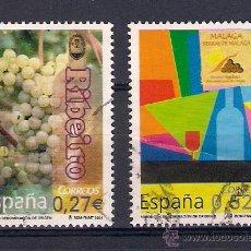 Sellos: VINOS DE ESPAÑA. AÑO 2004. Lote 48794527