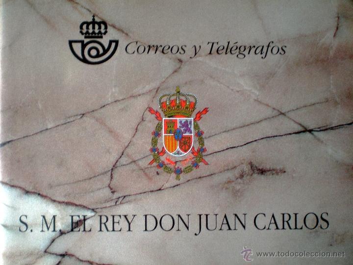 1998.- CARNÉ S.M. EL REY DON JUAN CARLOS / CORREOS Y TELEGRAFOS / NUEVO. SIN USAR. CATº. +180 € (Sellos - España - Juan Carlos I - Desde 1.986 a 1.999 - Nuevos)