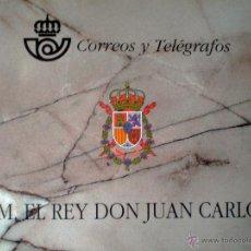 Sellos: 1998.- CARNÉ S.M. EL REY DON JUAN CARLOS / CORREOS Y TELEGRAFOS / NUEVO. SIN USAR. CATº. +180 € . Lote 49043761
