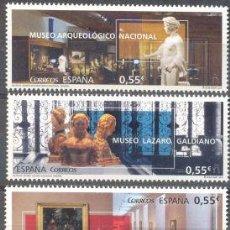 Sellos: AÑO 2015 (4953-4955) MUSEOS (NUEVO). Lote 49053391