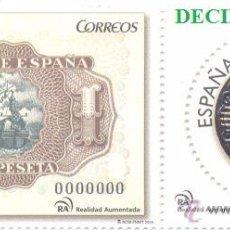 Sellos: ESPAÑA, SPAIN, AÑO 2014, EDIFIL 4919/20, NUMISMATICA, CATALOGO 8,00 EUROS. Lote 49144557