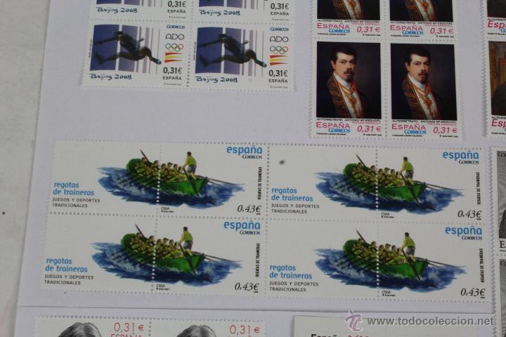 Sellos: S-2. SELLOS DE ESPAÑA 2008. VARIOS.EN TOTAL, 48 SELLOS. - Foto 4 - 49177039