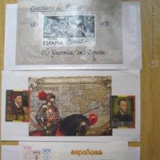 Sellos: HOJAS BLOQUE PICASSO MUNDIAL 82 Y PRUEBA ESPAÑA/BELGICA. Lote 49193208