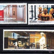Sellos: ESPAÑA 4953/55** - AÑO 2015 - MUSEOS. Lote 113279191