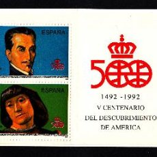 Sellos: ESPAÑA CARNET 3137** - AÑO 1991 - 5º CENTENARIO DEL DESCUBRIMIENTO DE AMÉRICA . Lote 49237361