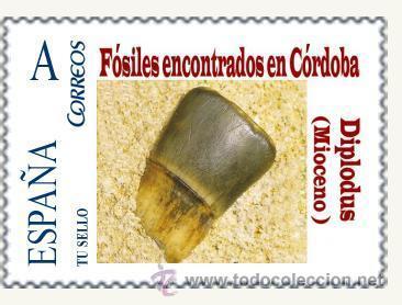 Sellos: TU SELLO. SERIE DE SIETE SELLOS DE FOSILES DE CORDOBA - Foto 3 - 54154939