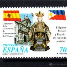 Sellos: ESPAÑA 3552** - AÑO 1998 - CENTENARIO DE LA INDEPENDENCIA DE FILIPINAS. Lote 49281062