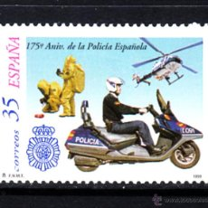 Sellos: ESPAÑA 3623** - AÑO 1999 - 175º ANIVERSARIO DE LA POLICÍA ESPAÑOLA. Lote 49281218