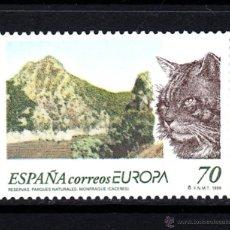 Sellos: ESPAÑA 3628** - AÑO 1999 - EUROPA - RESERVAS Y PARQUES NATURALES. Lote 49281268