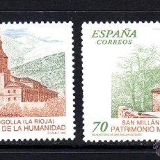 Sellos: ESPAÑA 3662/63** - AÑO 1999 - PATRIMONIO MUNDIAL DE LA HUMANIDAD. Lote 49281421