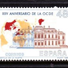 Sellos: ESPAÑA 2874** - AÑO 1987 - 25º ANIVERSARIO DE LA OCDE. Lote 49297365