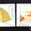 Sellos: ESPAÑA 3448/49 - AÑO 1996 - ARQUEOLOGÍA - MENORCA Y TERUEL. Lote 164868833