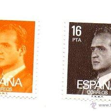 Sellos: ESPAÑA 1980 SERIE 2558/2559/1 -NUEVOS CON CHARNELA. Lote 49423783