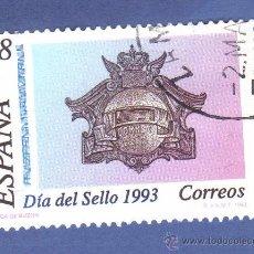 Sellos: EDIFIL 3243, SERIE, AÑO 1993, DÍA DEL SELLO. Lote 278754308