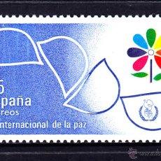 Sellos: ESPAÑA 2844** - AÑO 1986 - AÑO INTERNACIONAL DE LA PAZ. Lote 49755717