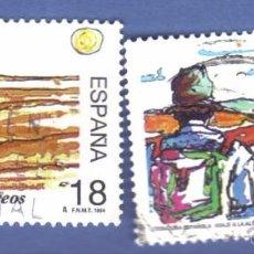 Sellos - edifil 3303 y 3304, serie, año 1994, literatura española. - 49861291