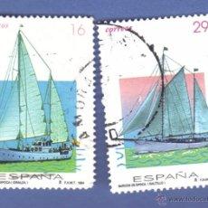 Sellos - edifil 3314 y 3315, serie, año 1994, barcos de época. - 49930382