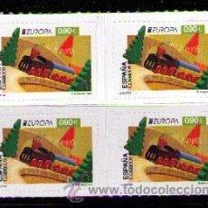 Sellos: ESPAÑA 2015 - EUROPA - JUGUETES - 1 SELLO EN BLOQUE DE 4 - EDIFIL Nº 4964**. Lote 49998229