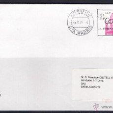 Sellos: CARTA MADRID A SAX (26-10-2007). Lote 50058711