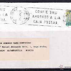 Sellos: CARTA ENTRE MAJADAHONDA,MADRID Y ALCANTARILLA (19-JUN-1996). Lote 50111609