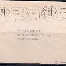 Sellos: CARTA BARCELONA CIUDAD. 27-9-1985.. Lote 50111726
