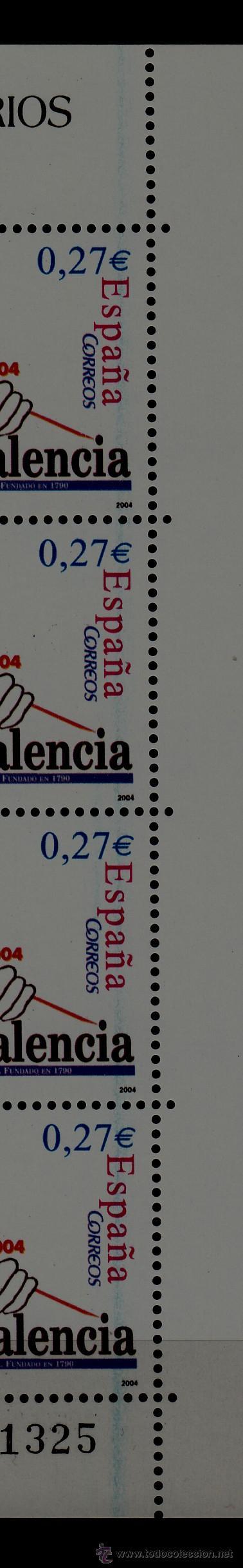 Sellos: españa 4094 minipliego 85 sin charnela, vdad linea azul en 4 sellos derecha, prensa diario valencia+ - Foto 2 - 50141477