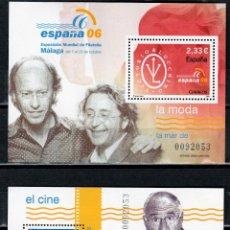 Sellos: ESPAÑA 2006. EXPOSICION MUNDIAL DE FILATELIA. ESPAÑA 2006. SERIE. 7 HB. **.,MNH ( 2 FOTOS). Lote 50214357