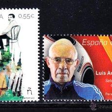 Sellos: ESPAÑA 4962/63** - AÑO 2015 - PERSONAJES - GABRIEL GARCIA MARQUEZ - LUIS ARAGONES. Lote 105639496