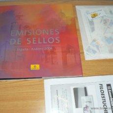 Sellos: SELLOS DE ESPAÑA 2004. Lote 50517950