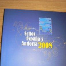 Sellos: SELLOS DE ESPAÑA 2008. Lote 50518051