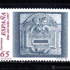 Sellos: ESPAÑA 3471** - AÑO 1997 - DIA DEL SELLO - BUZONES. Lote 50618025