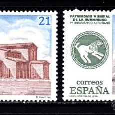 Sellos: ESPAÑA 3508/09** - AÑO 1997 - PATRIMONIO MUNDIAL DE LA HUMANIDAD. Lote 50618060