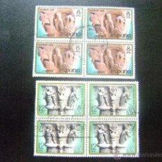 Sellos: ESPAÑA ESPAGNE 1979 EDIFIL Nº 2550/51 º FU YVERT Nº 2196/97 º FU. Lote 50693692