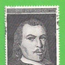 Sellos: EDIFIL 3110. DÍA DEL SELLO - RETRATO DE JUAN DE TASSIS Y PERALTA, II CONDE DE VILLAMEDIANA. (1991).. Lote 50753180