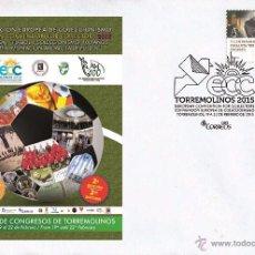 Spain 2015 - European convention of collectors,Torremolinos - special postmark cancellation