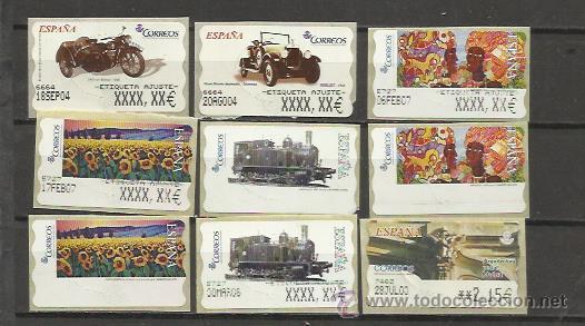 662 etiquetas postales conmemorativas atm con e comprar sellos rh todocoleccion net
