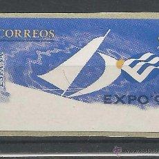 Sellos: ATM ETIQUETA EN BLANCO EXPO 1998 LISBOA. Lote 51436211