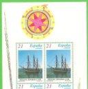 Sellos: EDIFIL 3477 H.B. BARCOS DE ÉPOCA - FRAGATA ASTURIAS. (1997).** NUEVO SIN FIJASELLOS.. Lote 51456037