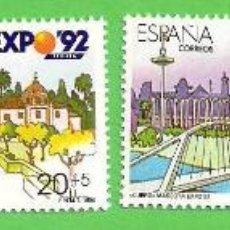 Sellos: EDIFIL 3050-3051-3052-3053. EXPOSICIÓN UNIVERSAL DE SEVILLA, EXPO'92. (1990).** NUEVOS - COMPLETA.. Lote 51609119