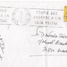 Sellos: SOBRE CIRCULADO DE MADRID A ALCANTARILLA, MURCIA (23-3-1996). Lote 51790577