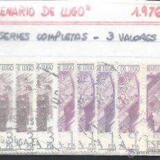 Sellos: 8512- 5 SERIES COMPLETAS. 1976- BIMILENARIO DE LUGO. Lote 51886108