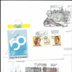 Sellos: CONJUNTO DE SOBRES DE PRIMER DIA DE LOS AÑOS 1985/1989. Lote 52133238
