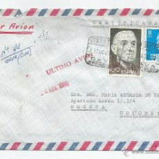 Sellos: 1980 - HISTORIA POSTAL CORREO AÉREO - ESPAÑA. Lote 52296521