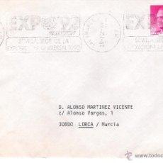 Sellos: CARTA DE SALAMANCA A LORCA, DD. 20-12-89. Lote 52321732