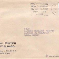 Sellos: SANTI EL MAGO. MADRID. CARTA A LORCA EL 21-ABR-78. Lote 52334366