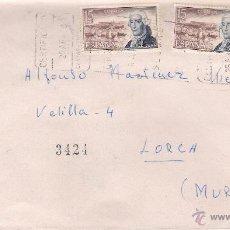 Sellos: CARTA EXPRÉS DE MADRID A LORCA, DD.L 25-4-78. Lote 52334430