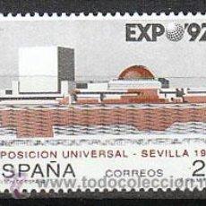 Sellos: EDIFIL 3155, EXPOSICION UNIVERSAL DE SEVILLA EXPO'92, PRIMER DIA DE 28-2-1992 SFC. Lote 52411149
