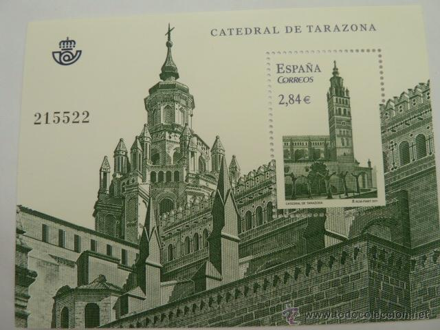 HOJA BLOQUE EDIFIL 4679, CATEDRAL DE TARAZONA, NUEVO AÑO 2011 (Sellos - España - Juan Carlos I - Desde 2.000 - Nuevos)