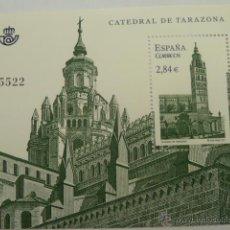 Sellos: HOJA BLOQUE EDIFIL 4679, CATEDRAL DE TARAZONA, NUEVO AÑO 2011. Lote 52787420