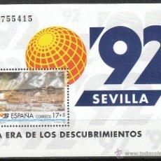 Sellos: EDIFIL 3191, EXPOSICIÓN UNIVERSAL SEVILLA, EXPO 92, NUEVOS ***. Lote 73756735